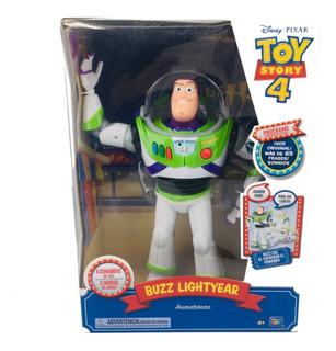 Toy Story 4 Buzz Lightyear 65 Frases Animatronico 33 Cm
