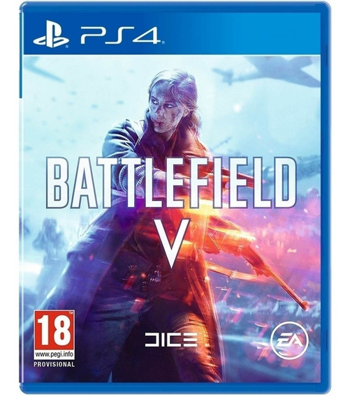 Jogo Battlefield V Bf 5 Ps4 Midia Fisica Cd Original Lacrado