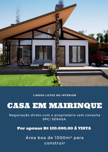 Casa No Interior De Sp À Venda Por 120 Mil