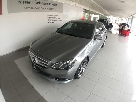 Mercedes Benz E-class 4 Puertas
