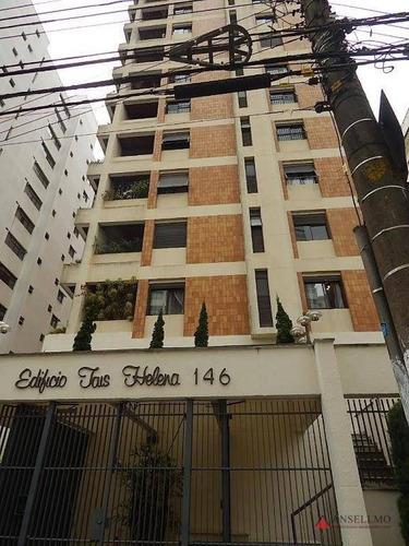 Apartamento Com 3 Dormitórios À Venda, 237 M² Por R$ 1.300.000,00 - Chácara Inglesa - São Bernardo Do Campo/sp - Ap1996