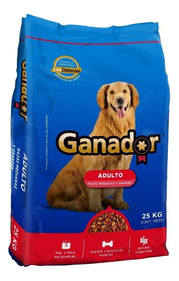 Alimento Para Perro Ganador Adulto 25 Kg