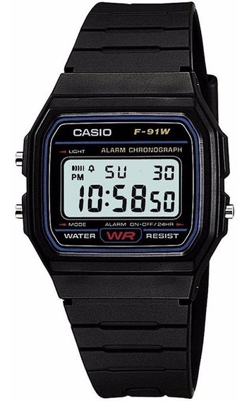 Reloj Casio Vintage Clásico Digital F91w1x E-watch Original