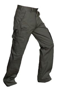 Pantalon Cargo Trabajo Hombre Reforzado Invierno Envio Grafa