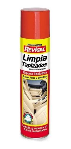 Limpia Tapizado Butacas Auto Coche Pana Tela Aerosol Revigal