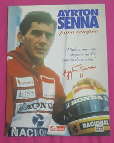 Revista Ayrton Senna Para Sempre.