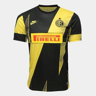 Camisa Inter De Milão Pré Jogo Cl 19/20 Nike Original