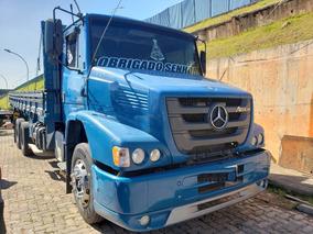 Mercedes Benz Atron 2324 6x2 Carroceria 2015 / Financiamos