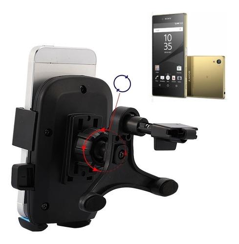 Holder Sujetador Rejilla Para Auto Giro 360 Sony Xperia Z5