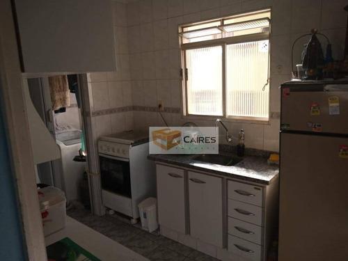 Apartamento Com 2 Dormitórios À Venda, 49 M² Por R$ 210.000,00 - Jardim Centenário - Valinhos/sp - Ap7576