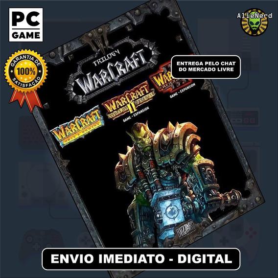 Warcraft 1 + 2 + 3 + Expansões - Mídia Digital