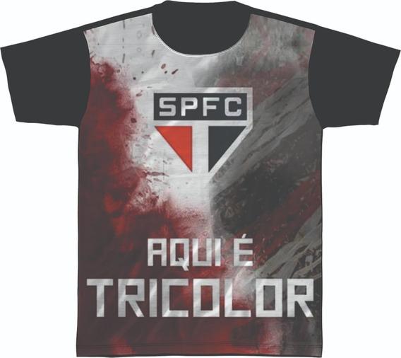 Camiseta Camisa São Paulo Tricolor Time Futebol Campeão 02