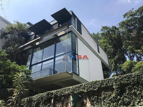 Imagem 1 de 25 de Casa Á Venda No Bairro Do Pacaembu Com 650 M² Construída. - Ca0839