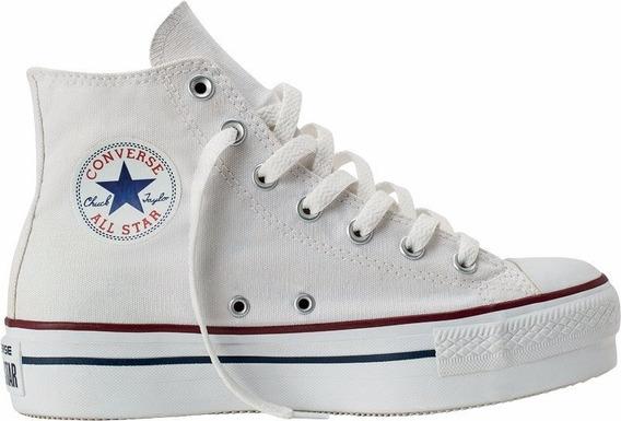 Zapatillas Chuck Taylor All Star Plataforma Hi Blanco 557143