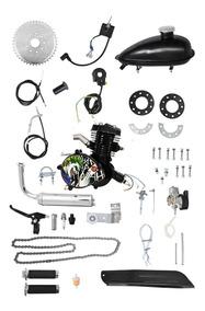 Kit Motor Para Bicicleta Moskito 80cc Black Coringa