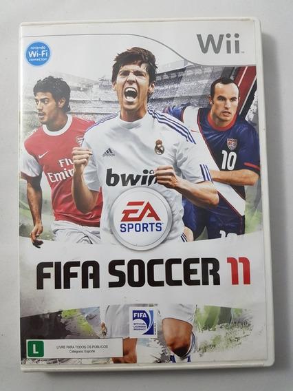 Fifa Soccer 11 Wii Mídia Física Pronta Entrega