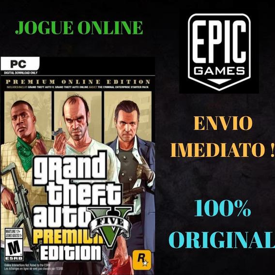 Gta 5 Edição Premium Online Original Para Pc - Epic Games