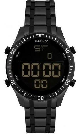 Relógio Technos Masculino Digi T02139ab/4p Original Barato