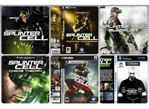 Splinter Cell Collection 6 Jogos Para Pc
