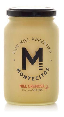 Miel Cremosa Montecitos 500g 100% Miel