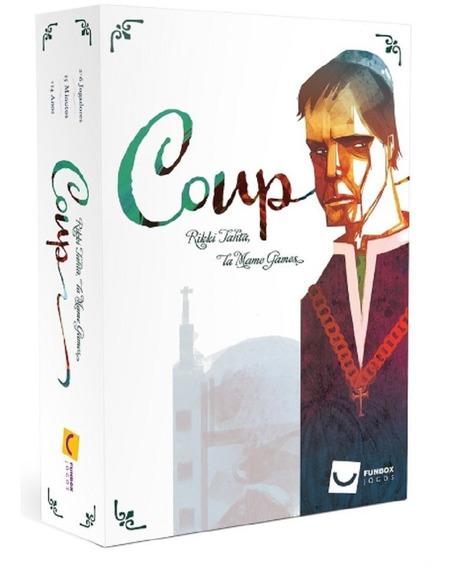 Jogo De Cartas Coup + Expansão A Reforma Mandala
