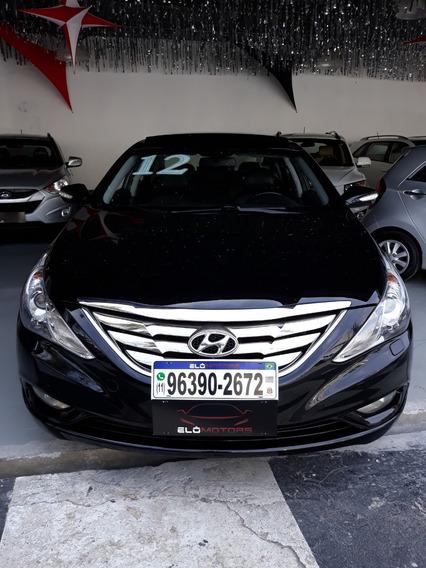 Hyundai Sonata Top De Linha C/ Teto -2012
