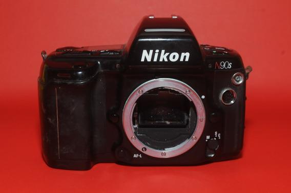 Nikon N90s Corpo Com Defeito Para Peças E Conserto