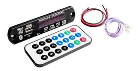 Módulo Mp3 Bluetooth, Sd, Usb E Controle Remoto