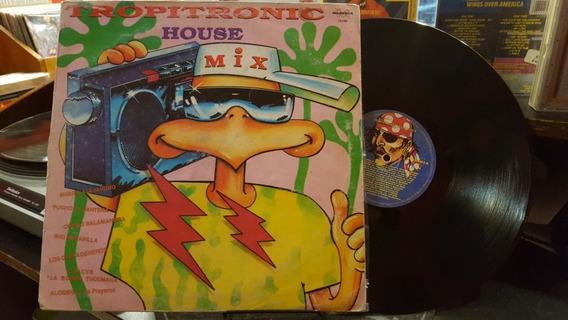 Tropitronic House Mix Lp Disco Vinilo Cumbia Ex