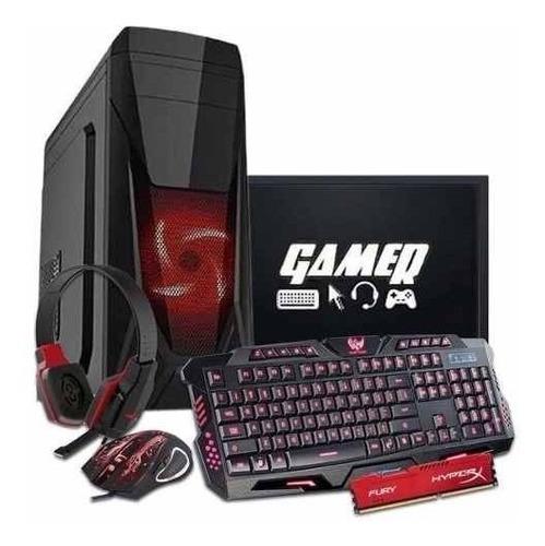 Pc Gamer Intel/ Core I5/ 16gb/ 1tb/ Geforce 2gb / Wi-fi/ Led