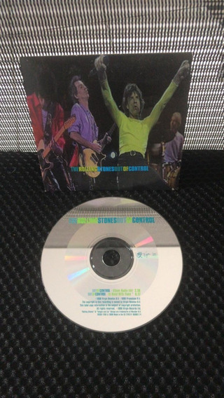 Rolling Stones Out Of Control Cd Single