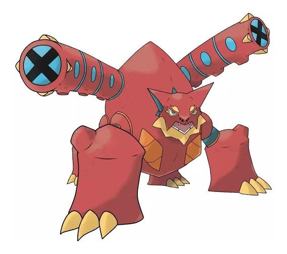 Pokémon Volcanion Evento Americano 6ivs X Y Oras Sun Moon