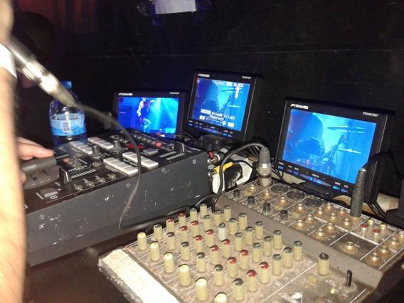Kit Tv Web C/4 Câm. Mesa De Corte 8ch, Sist. Comunic. R$.11m