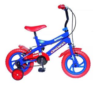 Bicicleta Infantil Ondina Bubble Rodado 12 Mi Casa