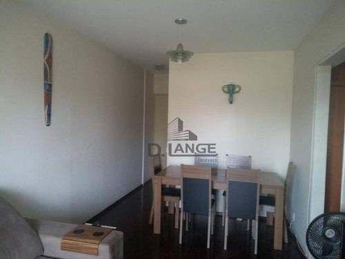 Imagem 1 de 15 de Apartamento Com 1 Dormitório À Venda, 50 M² Por R$ 245.000,00 - Botafogo - Campinas/sp - Ap18232