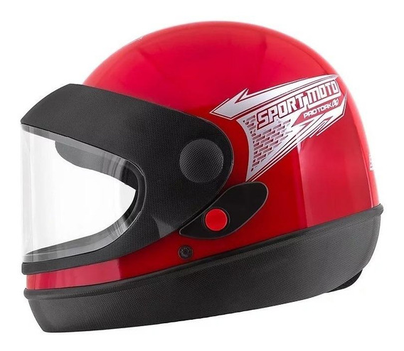 Capacete para moto integral Pro Tork Sport Moto vermelho tamanho 60