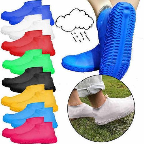 Cubre Zapatos Impermeables Para Lluvias Cod Fsx-m