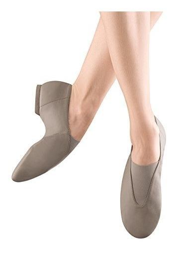 Zapatillas Super Jazz Para Mujer De Bloch, Color Topo, 11.5