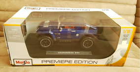 Carro Miniatura Hummer Hx Concept (premiere Ed) Maisto 1/18