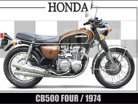 Honda 500 Four - Processo De Restauração - Apenas Venda!!!