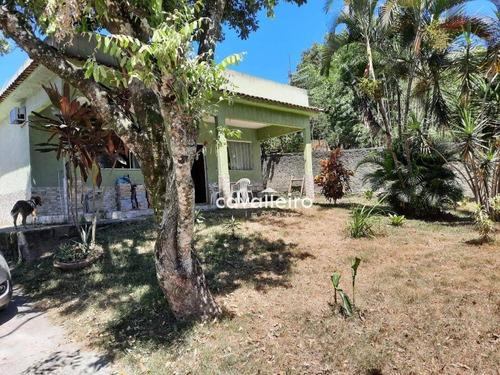 Casa Com 3 Dormitórios À Venda - Cajueiros (itaipuaçu) - Maricá/rj - Ca4634