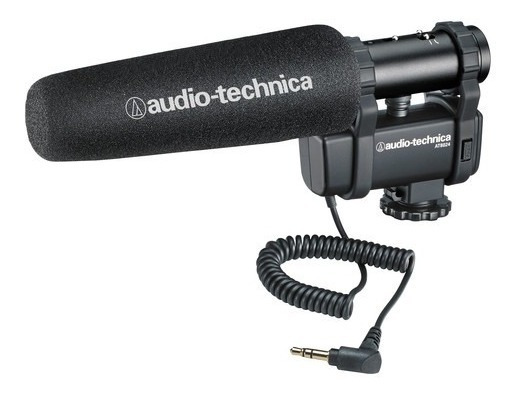 Audio-technica At8024 - Mic Estéreo / Mono Para Câmera
