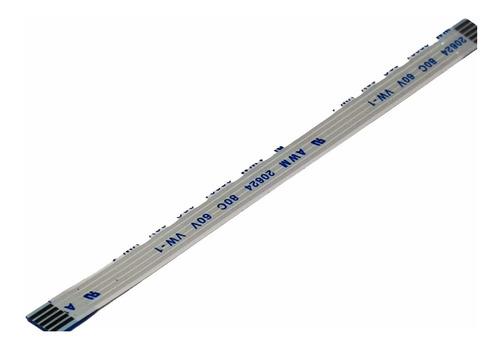 Cable Flex Membrana 5pines X 100mm Largo X 1mm Separacion