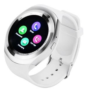 Relógio Smart Watch Y1s Monitor Card Pressão Art Frete Grat
