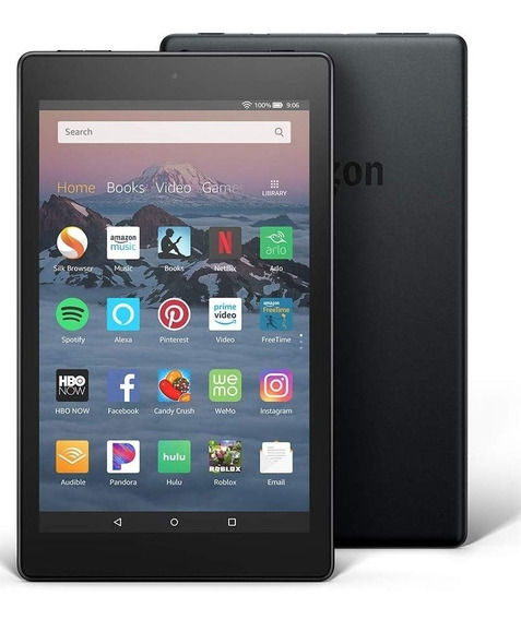 Tablet Fire 8 Amazon 16gb Bitcoin Punto Venta Oficinatuya