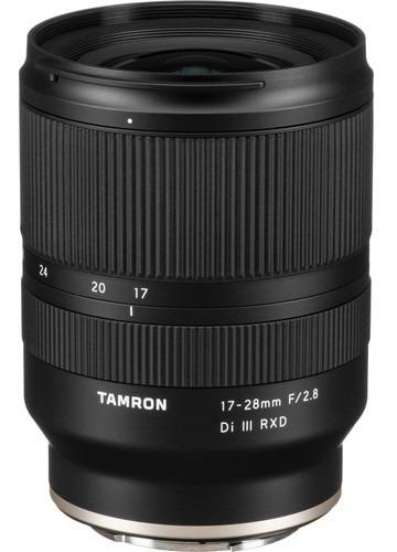 Lente Tamron 17-28mm F/2.8 Di Iii Rxd Para Sony E C/ Recibo