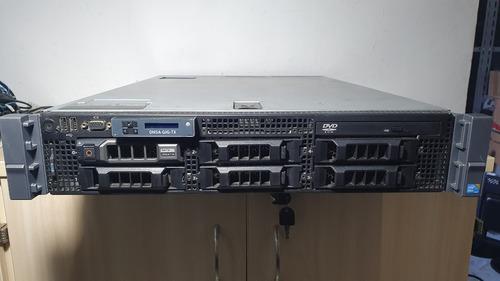 Imagem 1 de 8 de Servidor Dell Poweredge R710 Hd250 Xeon Quad Core Server 6gb