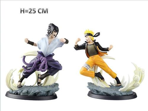 Anime Boruto Figura Muñeco Set 2 Piezas 25 Cm Sasuke Naruto
