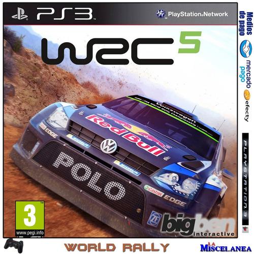 Wrc 5 Fia World Rally Championship Ps3 Digital