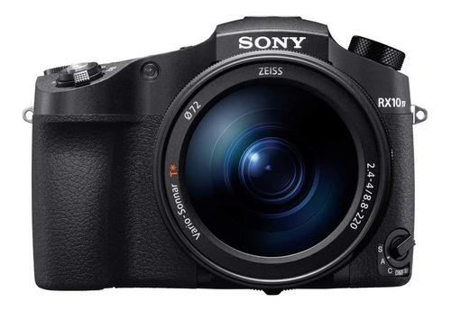 Imagem 1 de 6 de Sony Cyber-shot RX10 IV compacta cor  preto